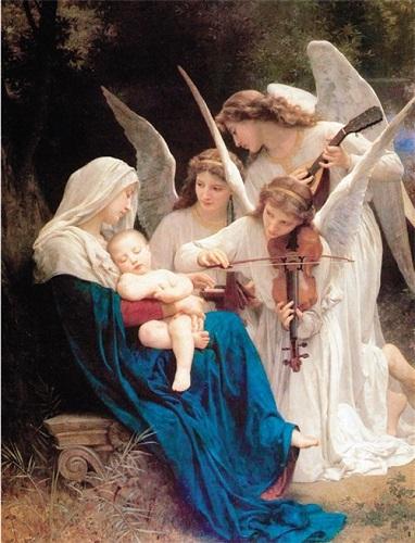 追求永恒高贵之美的布格罗:《天使之歌》欣赏  王凯丽kellywang最新动态
